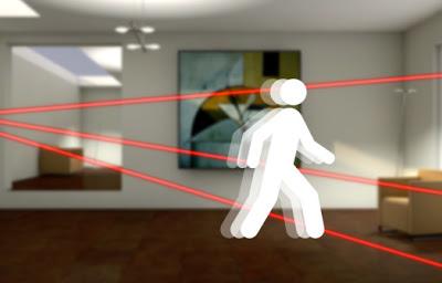 سنسور های حرکتی برای کنترل حرکت یا چندین کاربرد دیگر خانگی میتوانند استفاده شوند