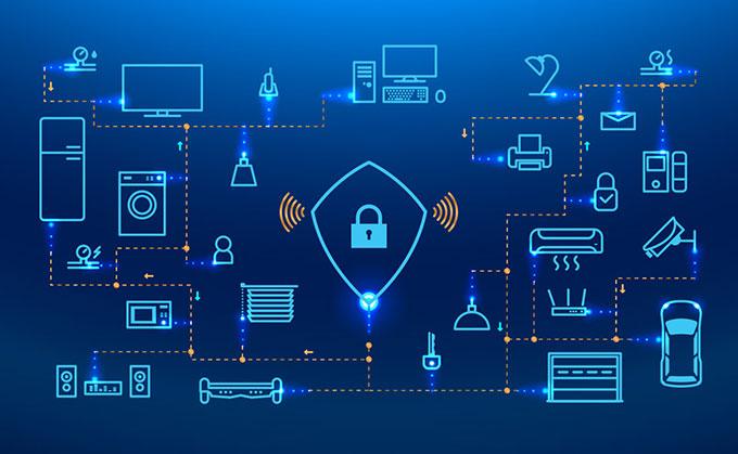 تصویر امنیت در IoT